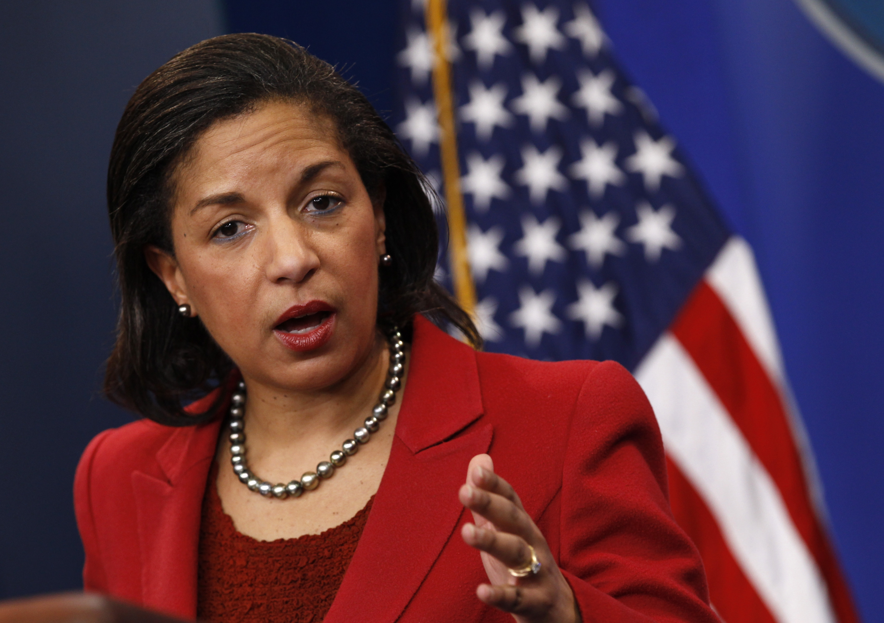 Former National Security Advisor Susan Rice.
